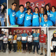 Focus Philippines employees participating in activities.