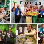 Employees at Focus Roy location involved in company activities.